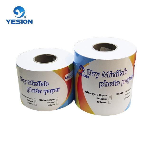 260gsm satin Dry minilab photo paper
