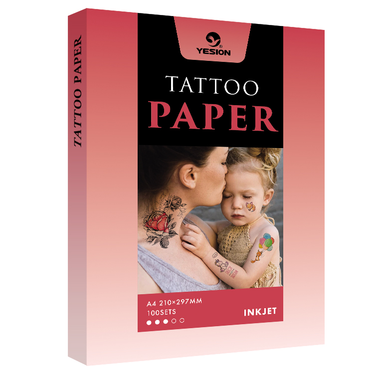 Water Transfer Temporary Tattoo Paper For Inkjet Printer