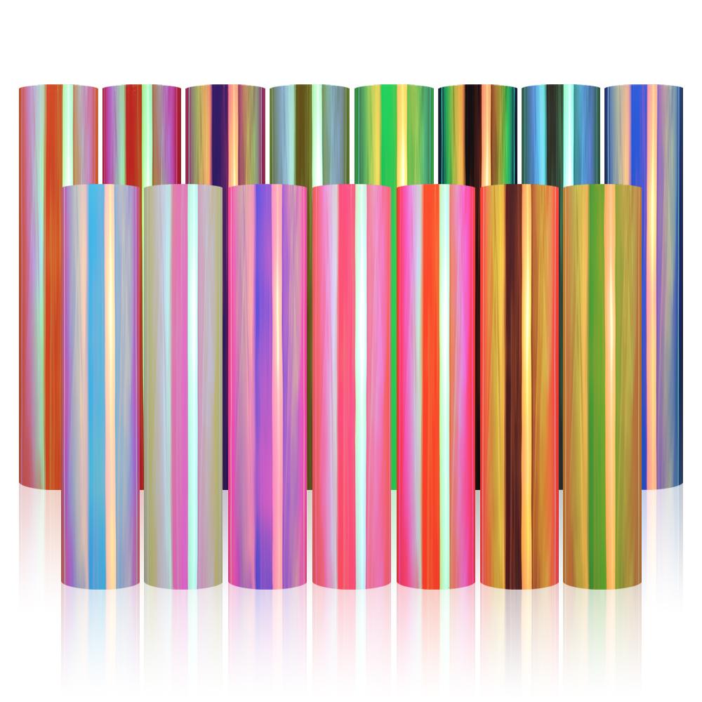 YESION HSV Self-adhesive Holographic Rainbow Stickers Vinyl