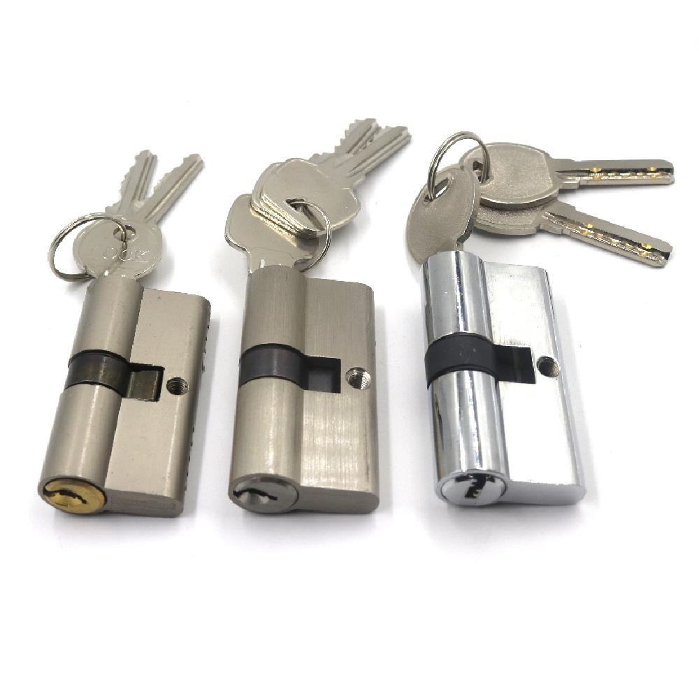 Security 60mm Double Open Mortise Euro Door Lock Cylinder