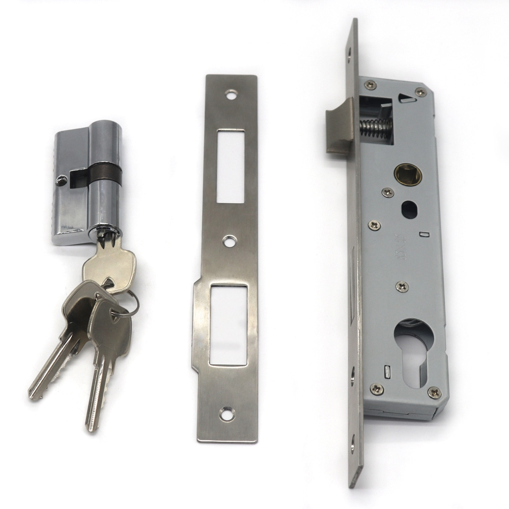 Factory Supply European Stainless Steel Mortise Door Lock
