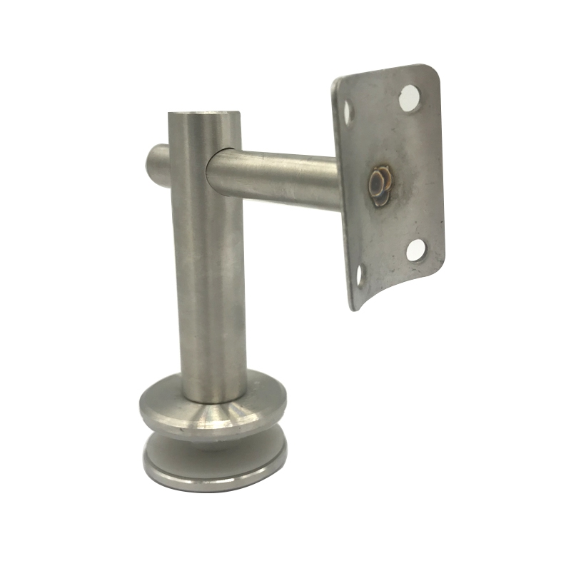 Exhibition Stainless Steel Side Mount Handrail Wall Bracket For 50.8mm Tube