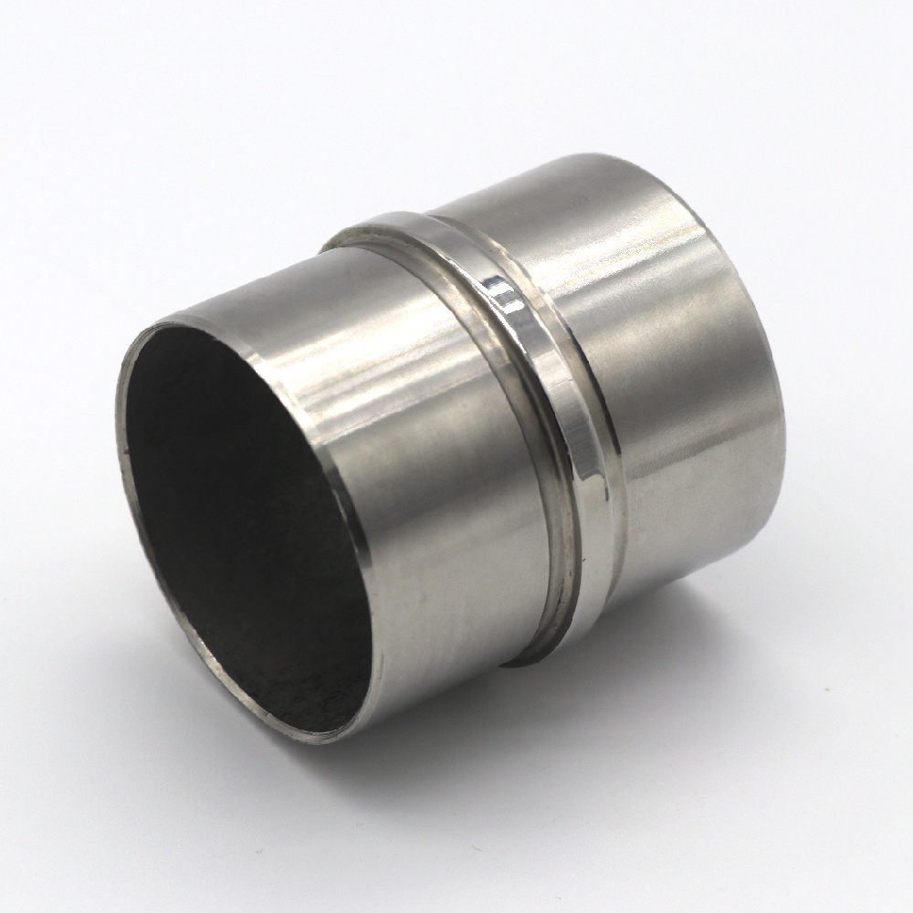 Railing Fitting Stainless Steel 180 °Round Handrail Tube Connector