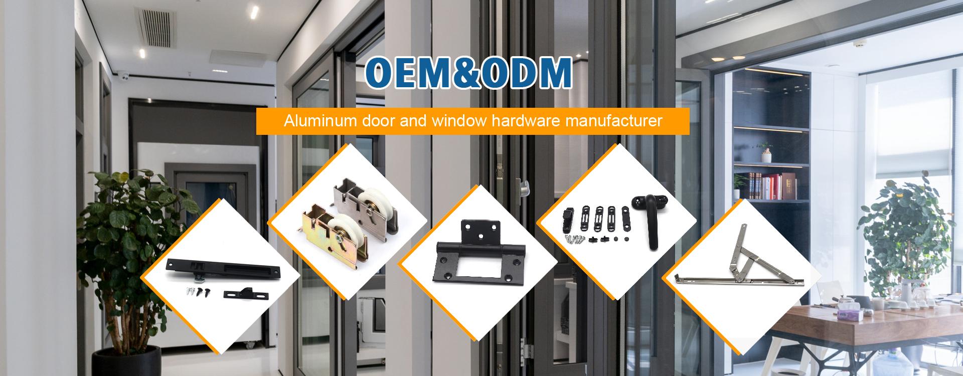 Perangkat Keras Jendela Dan Pintu Aluminium
