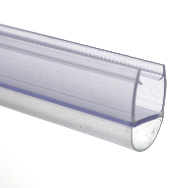 Bathroom Accessories Waterproof Pvc Shower Door Seal For 6-12mm Glass