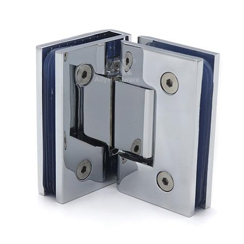 90 degree double side glass to wall adjust shower door pivot hinge
