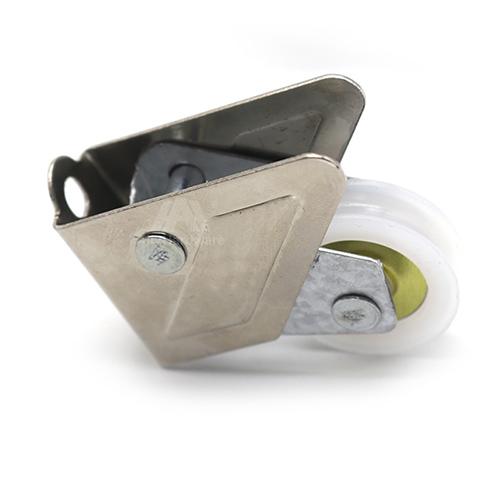 798 straight core wheel iron shell single sliding wardrobe window roller