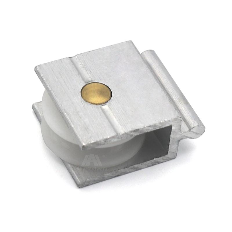 Sliding gate v groove nylon pulley aluminum profile window rollers wheels