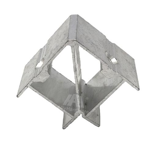 90 degrees aluminum profile corner connector