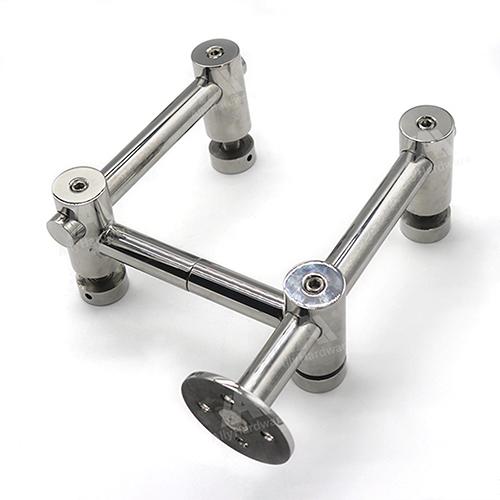 Adjustable support SS304 glass holder