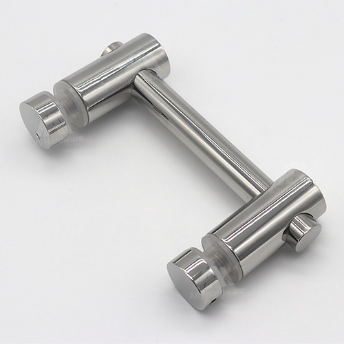 Glass glass connector fitting stainless steel glass clamp