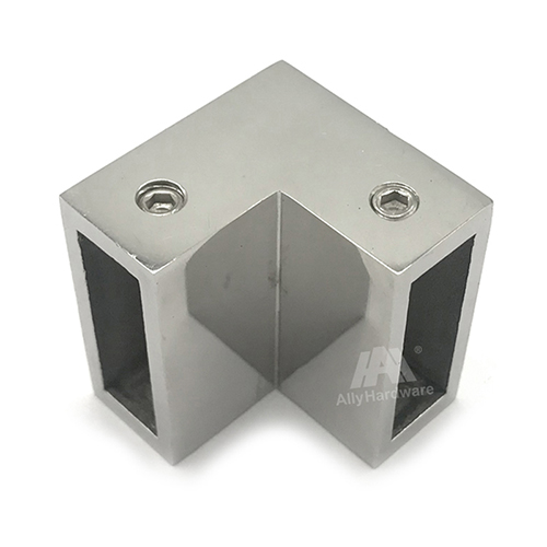 Glass Fittings Shower Room Square Tube Connector