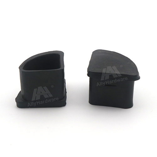 Safety round shape aluminium accessories plastic corner joint cover for door and window fittings