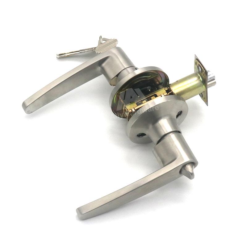 Original supplier stainless steel double cylinder handle door lock
