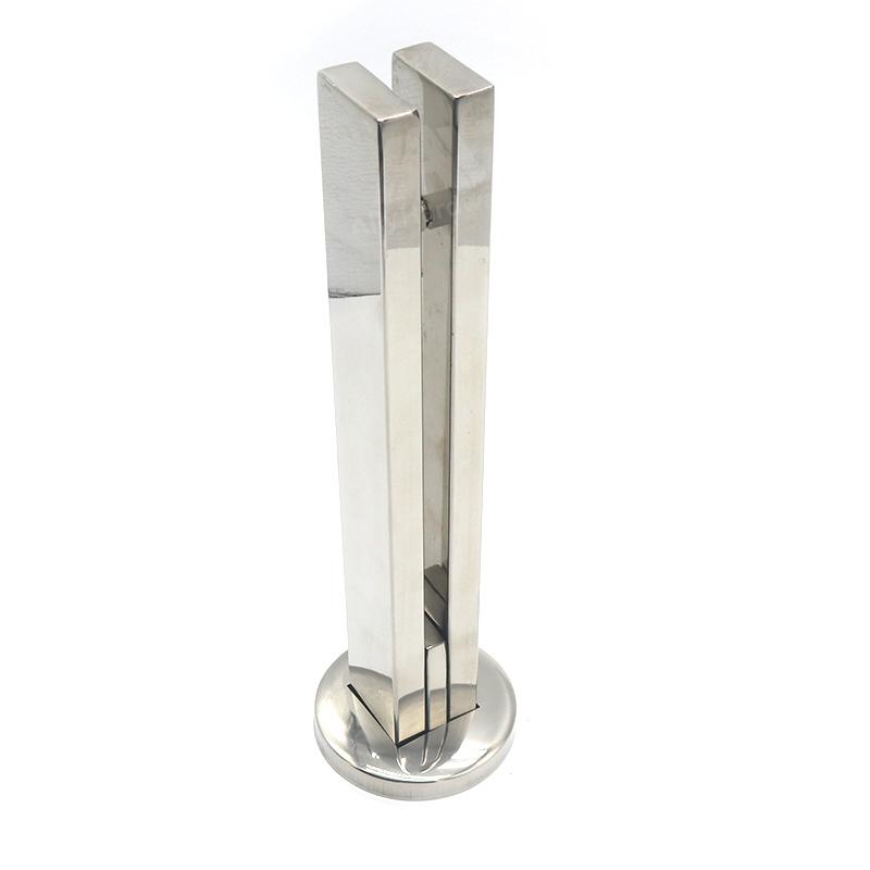 Stainless steel frameless glass pool railing fence spigot