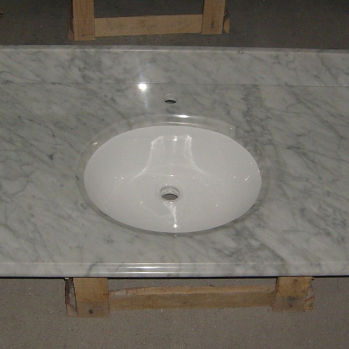 Natural  Carrara White  Marble Wall And Floor Tiles