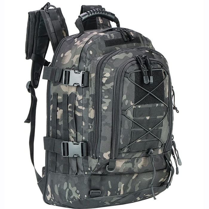 Large Capacity Tactical Backpack And Multi Compartments Military Backpack