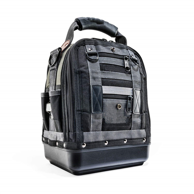 Heavy Duty Tool Backpack Perfect Storage & Organizer For A Contractor, Electrician, Plumber.