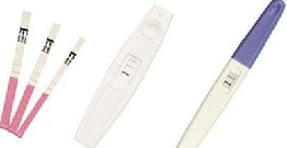 pregnancy tests test for   first response home pregnancy test
