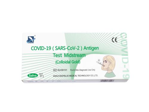 COVID-19 (SARS-CoV-2) Antigen Test Midstream - Saliva