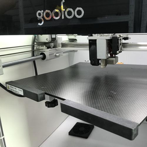 goofoo 3D Printer Platform carbon fiber Heated Bed for 400℃ high temperature extruder 3D Printer Accessories