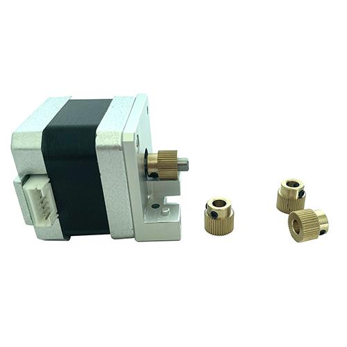 3D Printer Accessories 40 Teeth Brass Feeding PLA/ABS Filament Drive Gear For FDM 3D Printing Machine