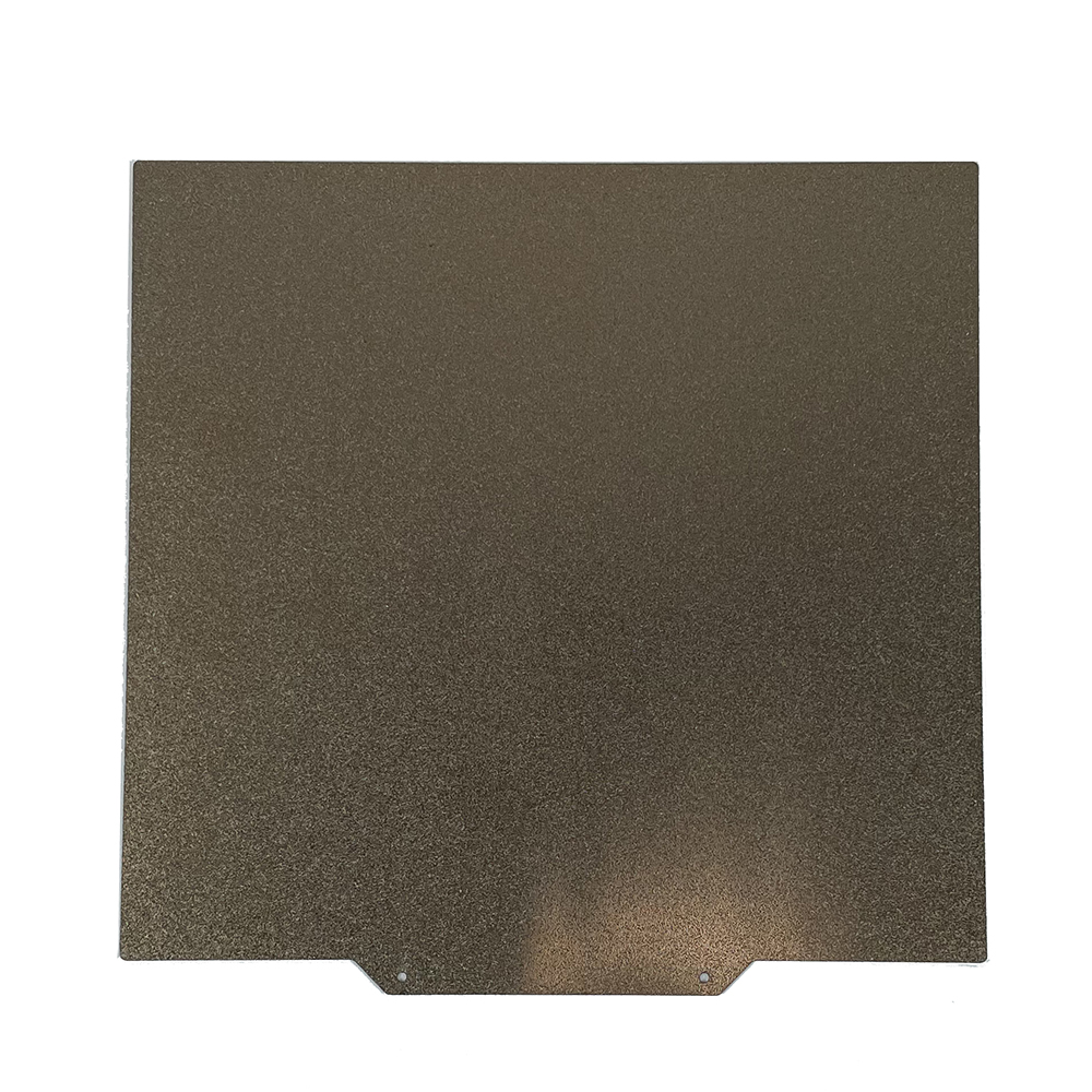 235x250MM Double Sided Textured PEI Spring Steel Sheet Powder Coated PEI Build Plate for Goofoo Mido 3D Printer