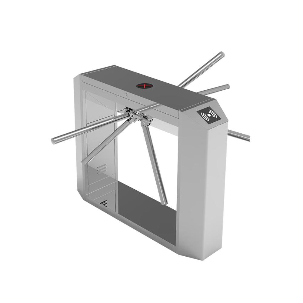 304 Stainless Steel Optional Rfid Card Reader Tripod Turnstile Barrier