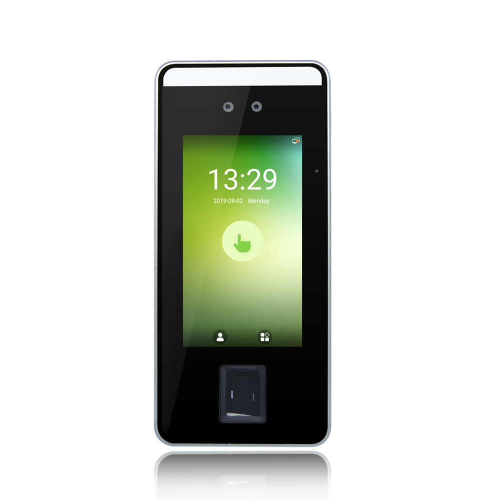 Android Facial Recognition Time Attendance terminal With Dual Camera Speedface V5