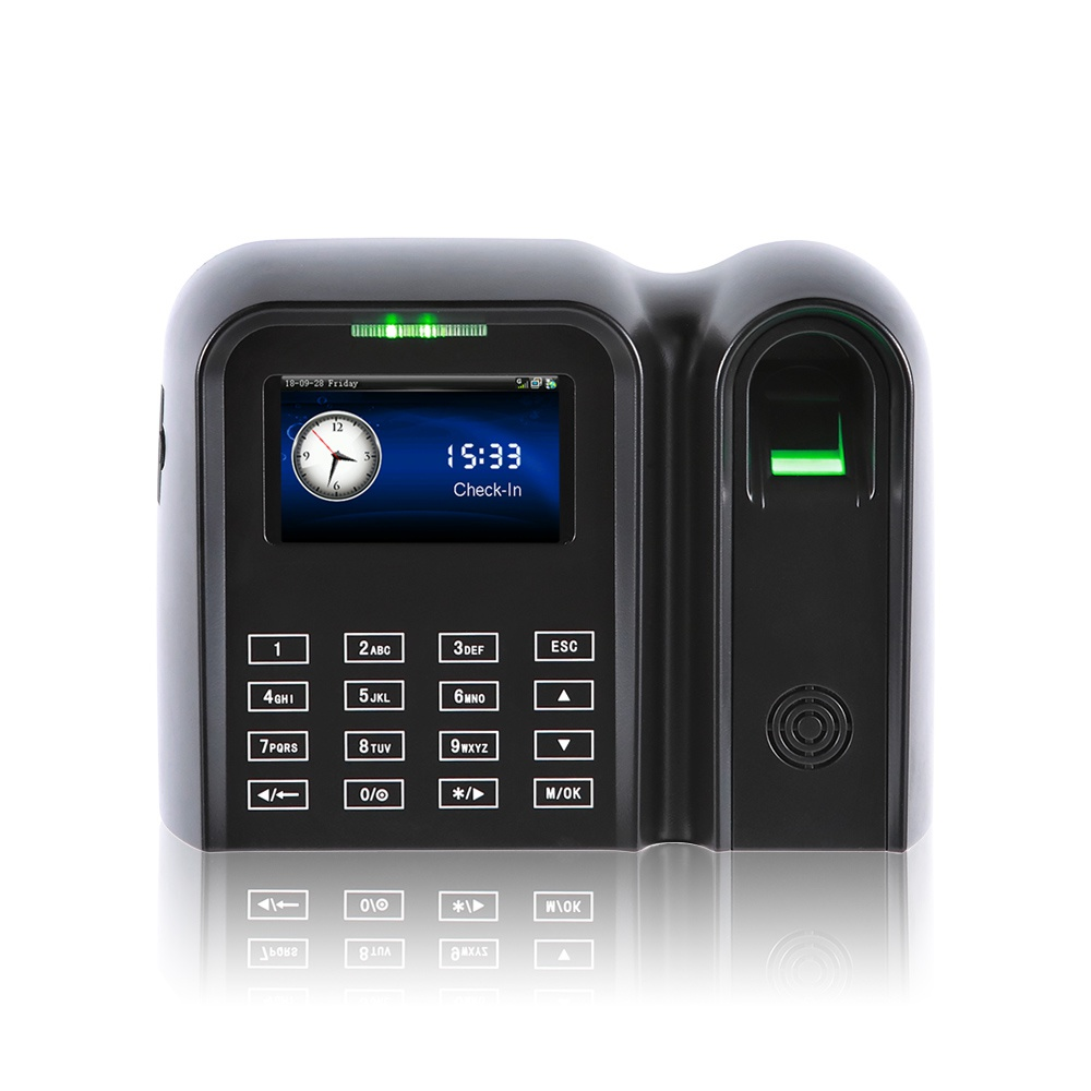 3InchTFTColor TouchScreenFingerprint Time Attendance System(QCLEAR-TC)