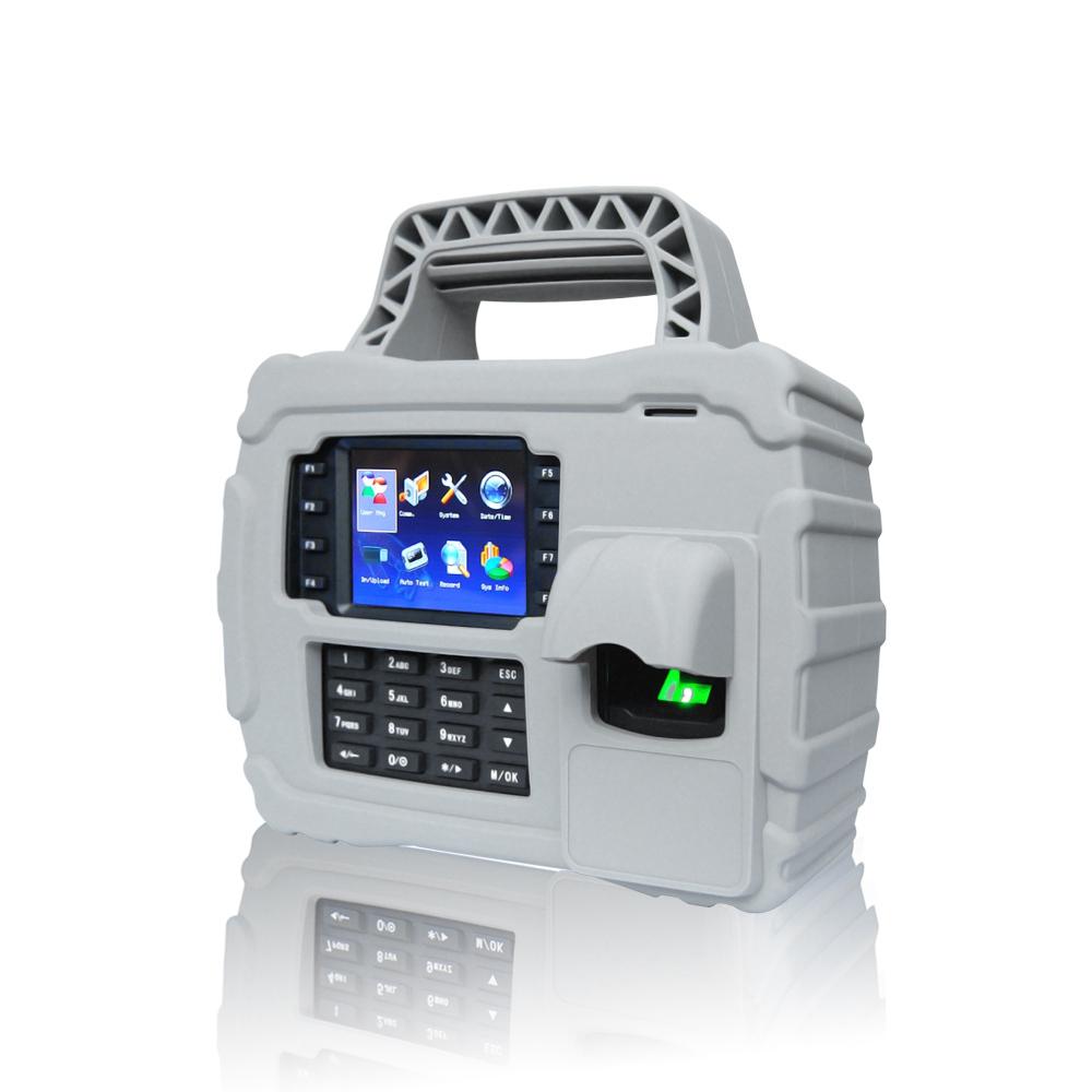 TCP IP USB Port Portable Biometric Fingerprint Reader With RFID CardTFT500P