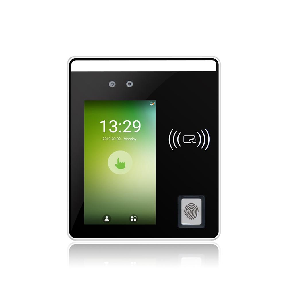 5''Touch Screen Facial Recognition& Fingerprint Terminal ( Speedface- H5 )