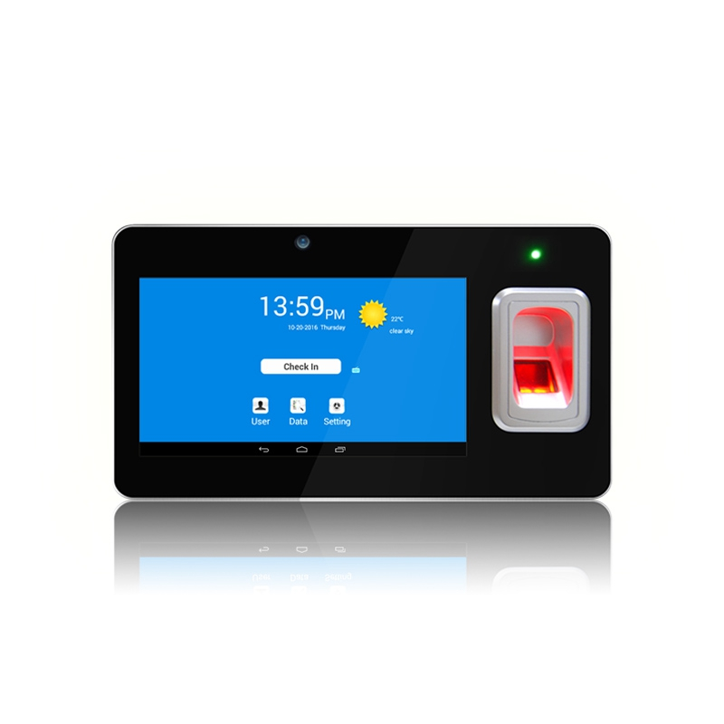 Android Fingerprint Time Attendance 7inch Touch ScreenGT168