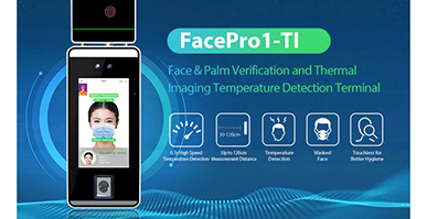 No-contact Thermal Imaging Temperature Detection Terminal Face Recognition System