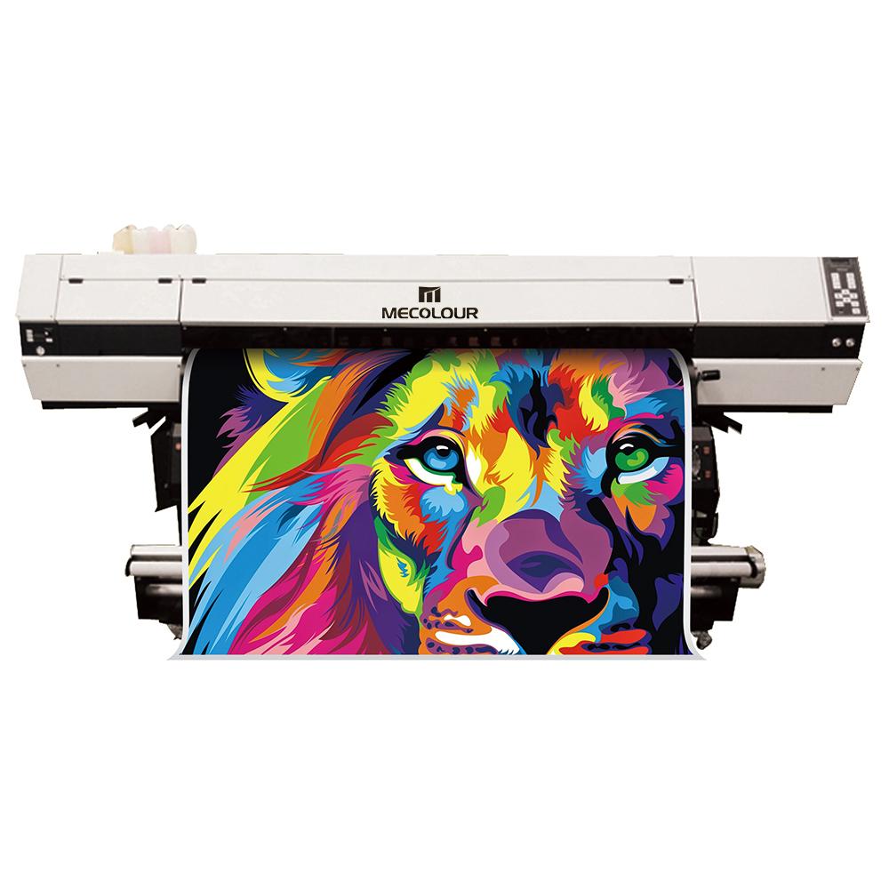 ME-1800THT 1.8m Large format three DX5 print head sublimation printer .