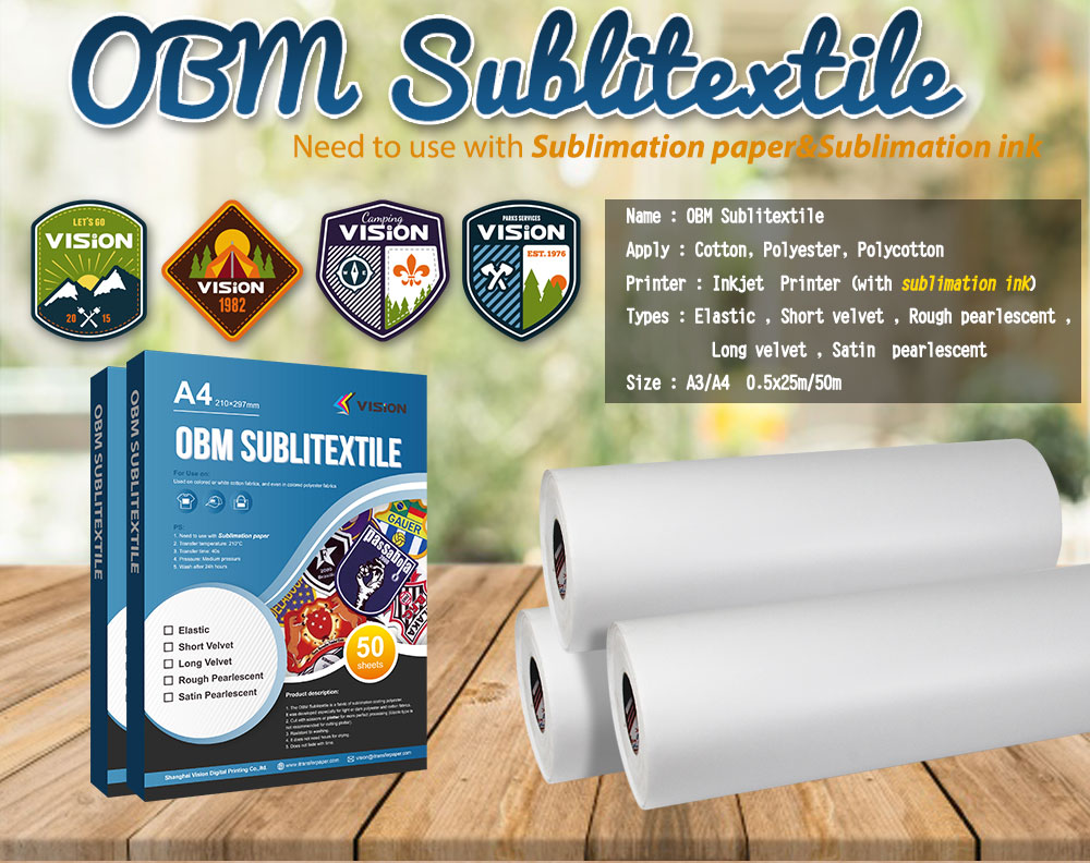 More Possibilities for OBM Sublitextile Materials
