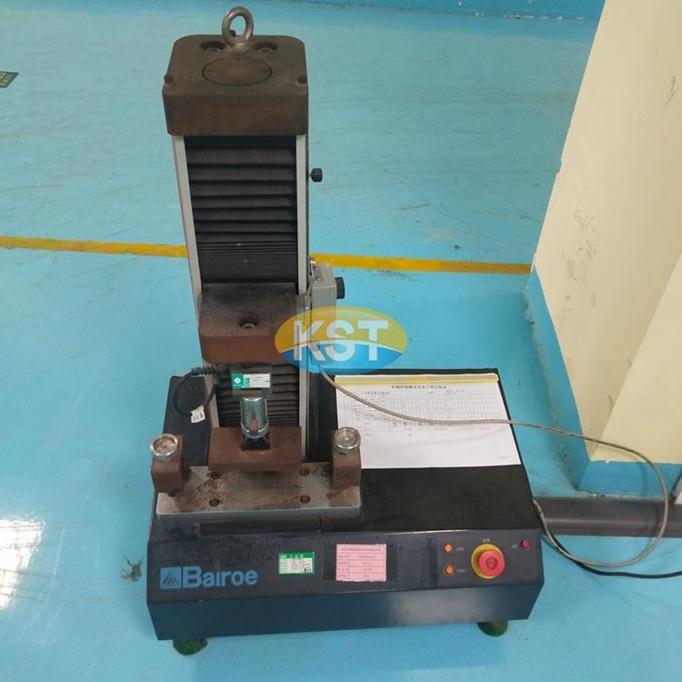 Cable crush testing machine