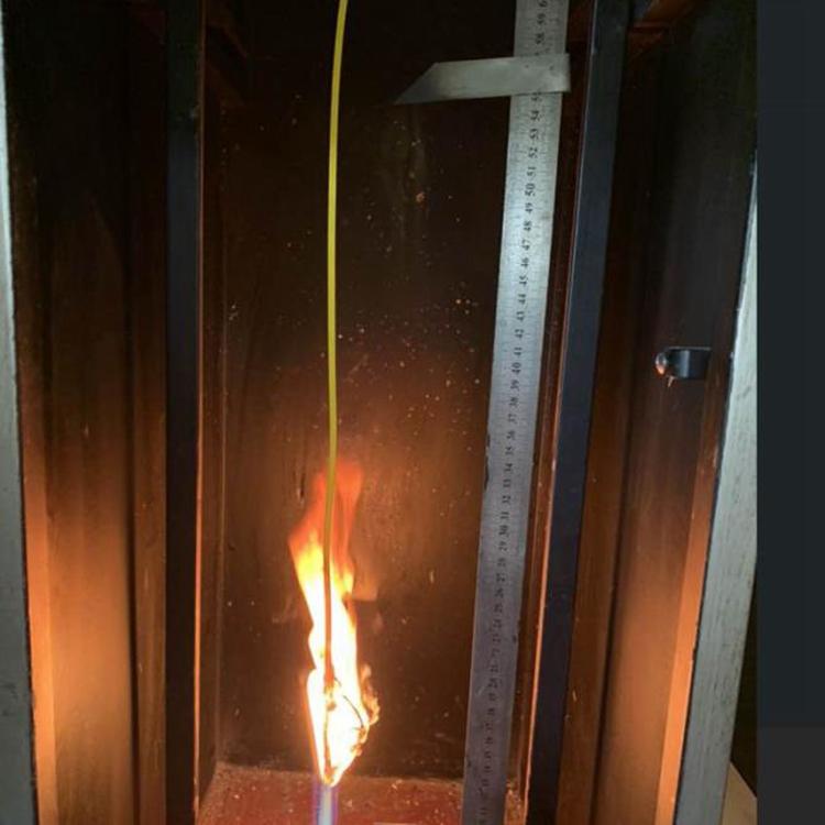 Flame retardant testing machine