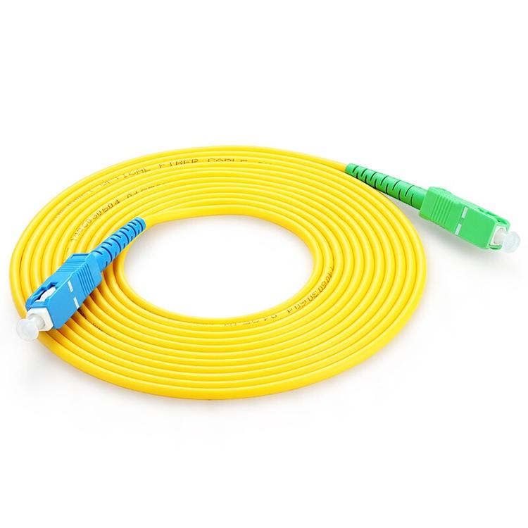 Fiber Optic Patch Cord, Sc ,st, Fc, Fc, E2000 Upc Apc Fiber Type Sm/mm