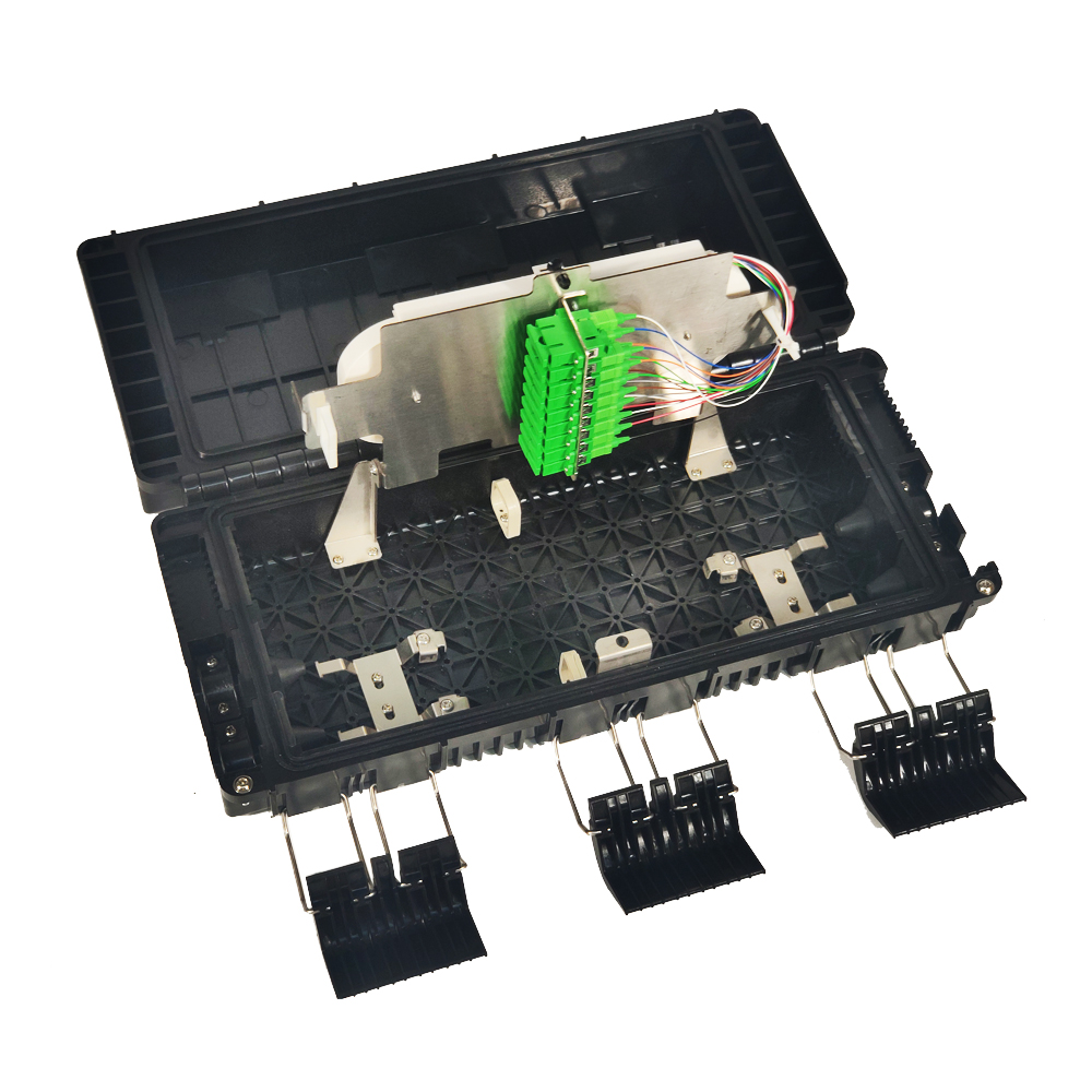 Fiber Optic Splice Closure with PLC Splitter