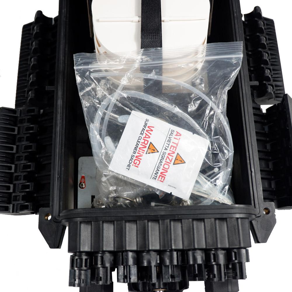 IP68 Fiber Optical Splice Enclosure Box / FTTH Inline 96 Core Outdoor Fiber Optic Joint Closure