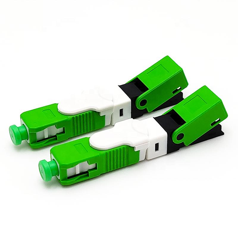 SC APC UPC Simplex/Duplex PLC Adaptor Fiber Optic Fast Connector