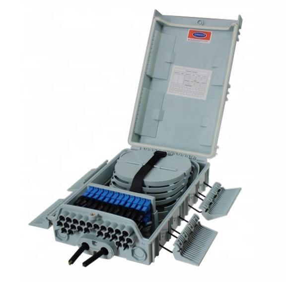 24 48 96 Core FTTH Optical Distribution Box 24 Fiber Distribution Box 24 Core Fiber Optic Distribution Box