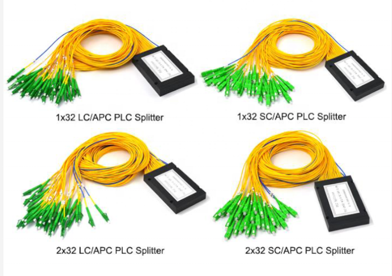 PLC Splitter with connector or without connector