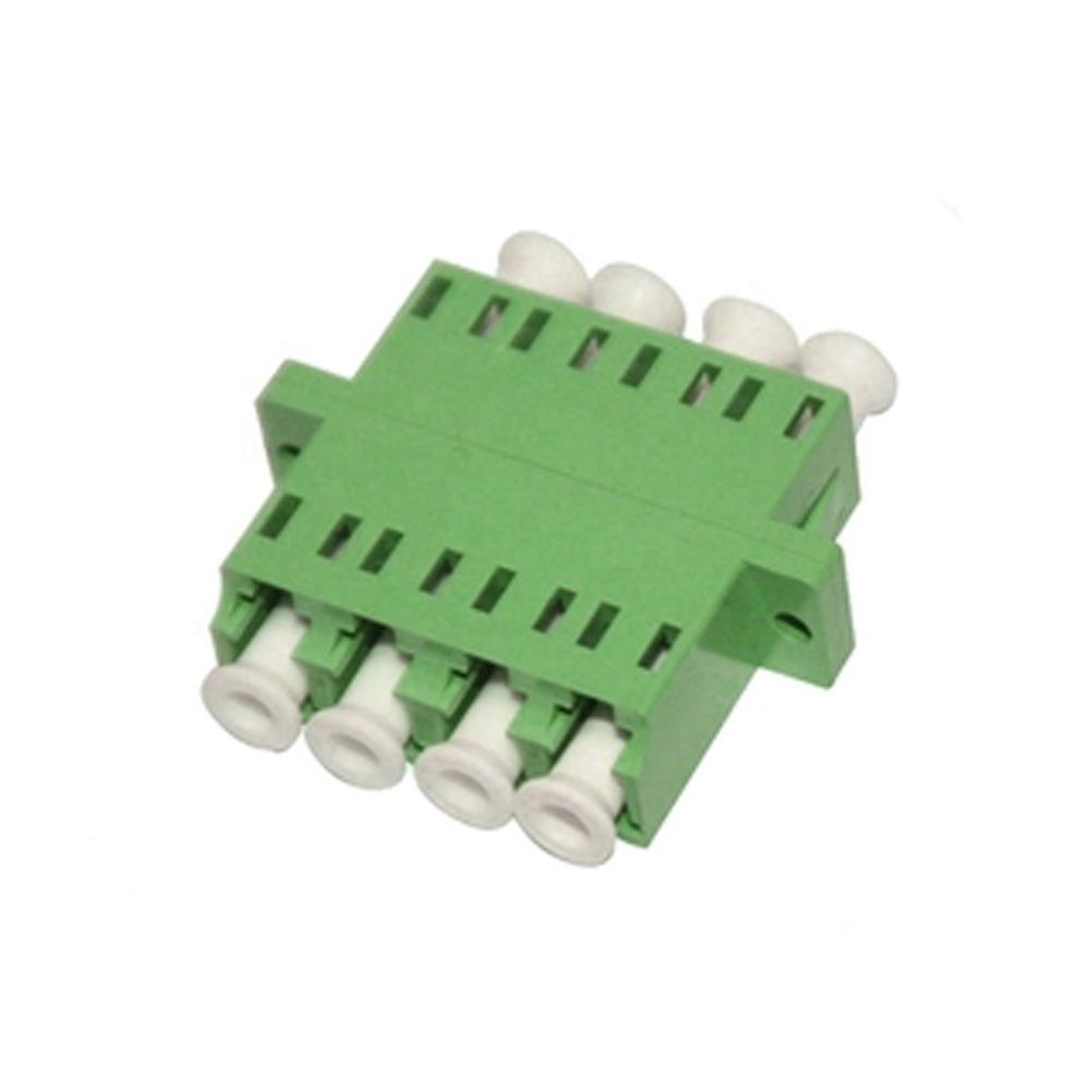 LC APC Coupler  LC UPC Quad Optical Midcoupler  Optical Adapter
