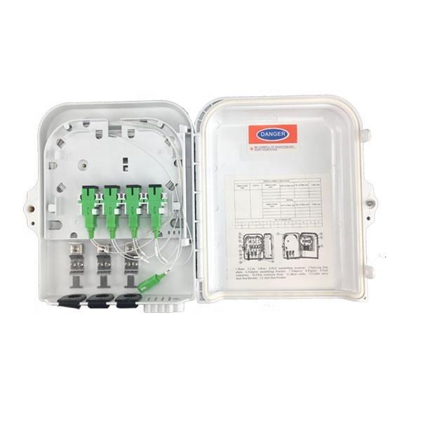 SC APC UPC 1x8 1x16 Fiber Optic PLC Splitter G657A