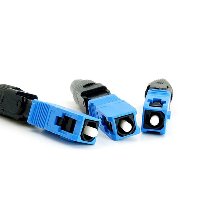 FTTH Fiber Optic  Fast Connector SC APC SC UPC