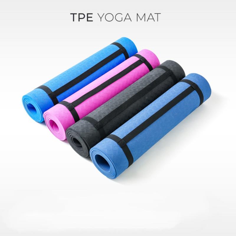 Custom Printed Eco Friendly Yoga Matt New TPE Yoga Mats