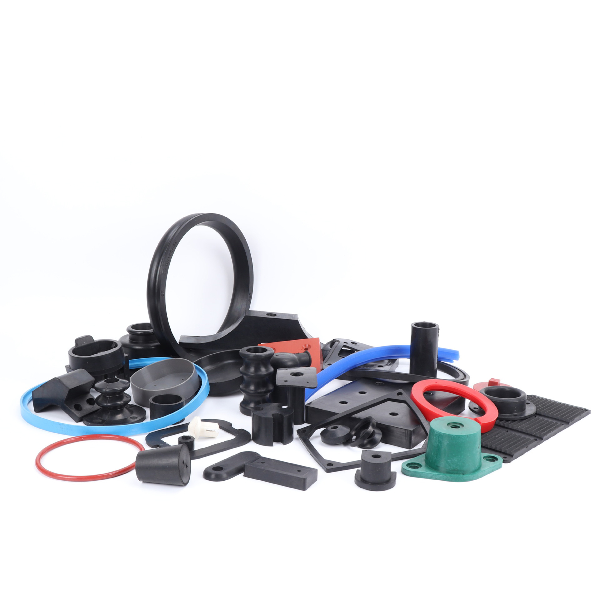 Customized cheap molded or extruded silicone rubber products