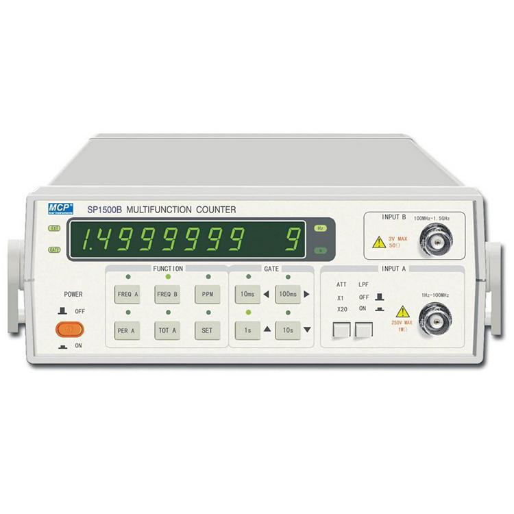SP1500A/SP1500B/SP1500C/SP2500B/SP3000B/SP3000C FREQUENCY COUNTER